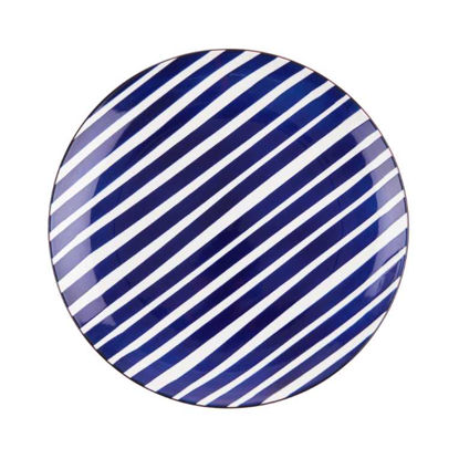 Изображение Тарелка PORTO Синий O:27 см. H:3.5 см. 10220061