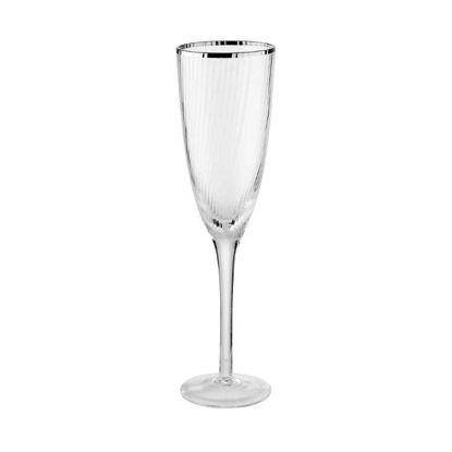 Зображення Келих для шампанського CHELSEA Прозорий V:250 мл. 10220072