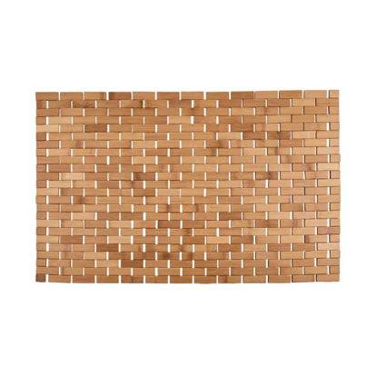 Зображення Килимок для ванної кімнати BIG BAMBOO Коричневий 80x50 см. L:80 см. 10220128