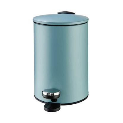 Изображение Ведро для мусора SIDE KICK Голубой 16.8x23.8 см. H:24.5 см. L:16.8 см. V:3000 мл. 10220157