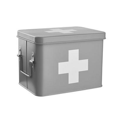Зображення Коробка для зберігання ліків MEDIC Сірий 21.5x15.5 см. H:16 см. L:21.5 см. 10220160