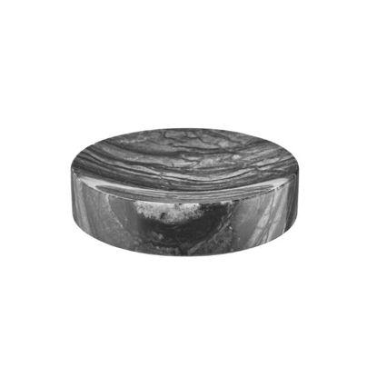 Изображение Мыльница MARBLE Черный O:11 см. H:2.6 см. 10220178