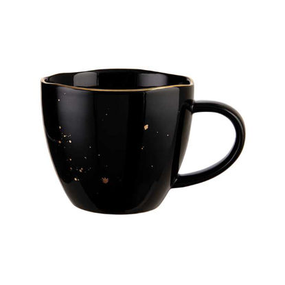 Изображение Чашка GOLDEN GLAZE Черный V:300 мл. 10220372