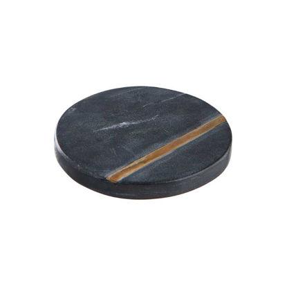 Изображение Подставка MARBLE Черный O:10 см. H:1 см. 10220376