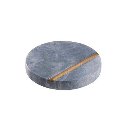 Зображення Підставка MARBLE Сірий O:10 см. H:1 см. 10220377