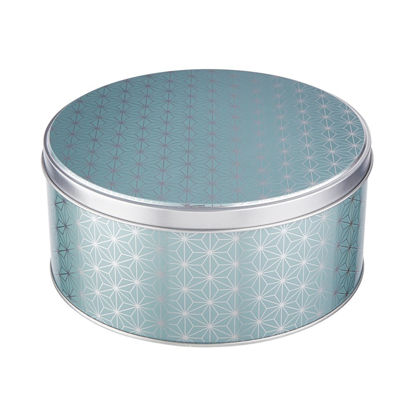 Изображение Коробка для хранения бытовых мелочей COOKIE JAR Синий O:16.7 см. 10220380