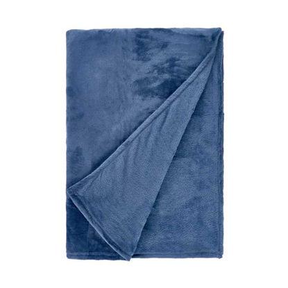 Зображення Покривало постільне LAZY DAYS Синій 200x150 см. L:200 см. 10220425