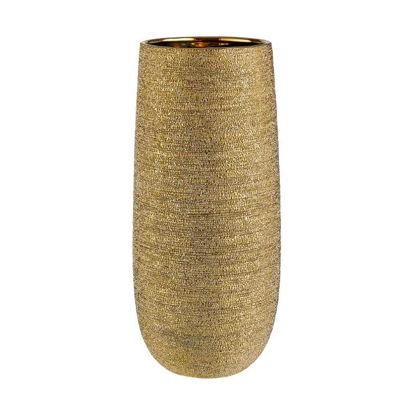 Зображення Ваза для квітів ASTRID Золотий L:38 см. 10220503