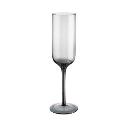 Зображення Келих для шампанського SMOKY Прозорий V:280 мл. 10220519