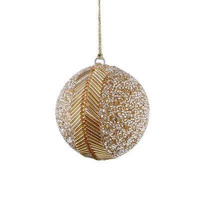 Зображення Кулька ялинкова HANG ON Золотий O:7 см. 10220674