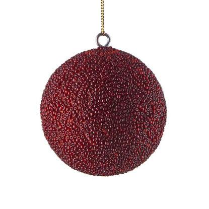 Зображення Кулька ялинкова HANG ON Червоний O:8 см. 10220694