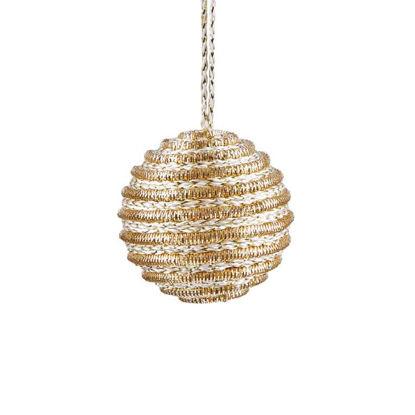 Зображення Кулька ялинкова HANG ON Золотий O:6 см. 10220697