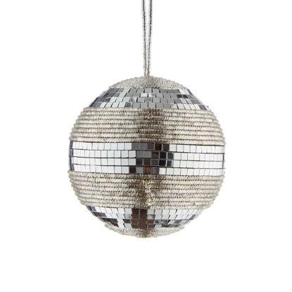 Зображення Кулька ялинкова HANG ON Срібний O:8 см. 10220698
