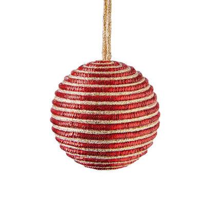 Зображення Кулька ялинкова HANG ON Червоний O:8 см. 10220704