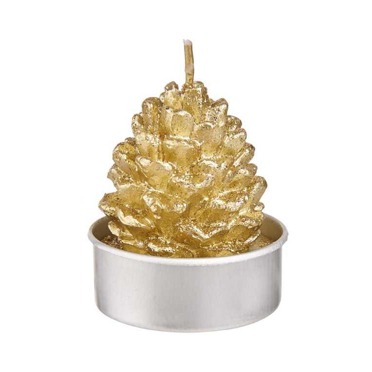 Зображення Свічка FLAMBEAU Золотий O:4 см. H:4 см. 10220735