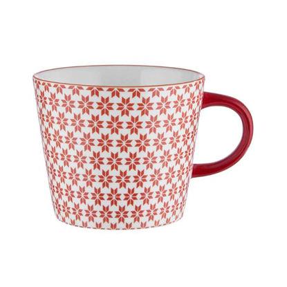 Изображение Чашка ORNAMENTS Красный V:350 мл. 10220745