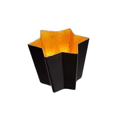 Зображення Підсвічник AURORA Чорний в поєднанні O:8.5 см. 10220751