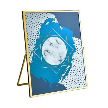 Зображення Рамка для фото CARAT Золотий 20.5x25.6 см. H:1 см. L:20.5 см. 10220754