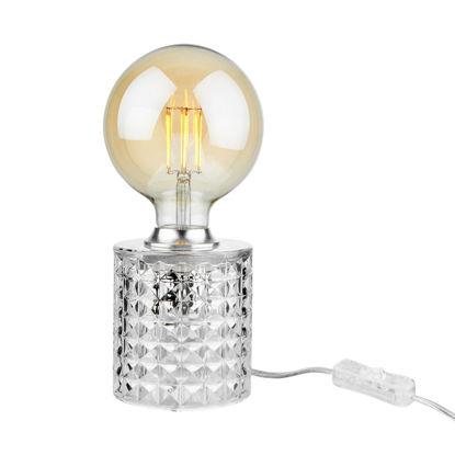 Изображение Лампа настольная STILO Прозрачный O:11 см. H:10 см. L:1.5 м. 10220800