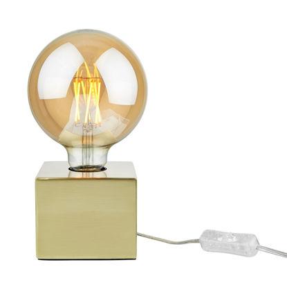 Изображение Лампа настольная STILO Золотой O:10 см. H:8 см. L:1.5 м. 10220802