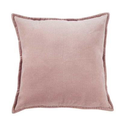 Зображення Подушка COTTON VELVET Рожевий 45x45 см. H:5 см. L:45 см. 10220842