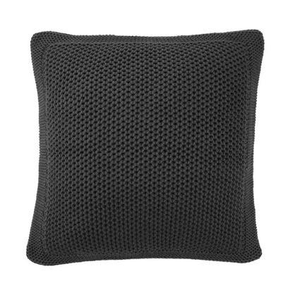 Изображение Подушка CROCHET Черный 45x45 см. H:3 см. L:45 см. 10220854