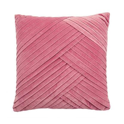 Изображение Подушка COTTON VELVET Розовый 45x45 см. H:11.4 см. L:45 см. 10220869
