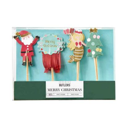 Изображение Набор рождественский MERRY CHRISTMAS Комбинированный 19.5x16 см. H:2 см. L:19.5 см. 10220879