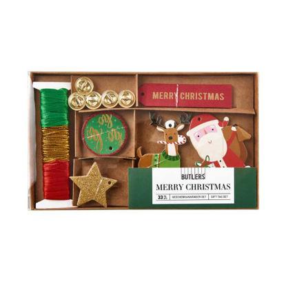 Изображение Набор рождественский MERRY CHRISTMAS Комбинированный 19.5x11.5 см. H:2 см. L:19.5 см. 10220882