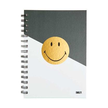 Изображение Блокнот SMILEY Серый 21.5x16.5 см. H:1.2 см. L:21.5 см. 10221162