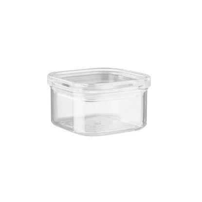 Зображення Ємність кухонна з кришкою CLEARANCE Прозорий 11x11 см. H:7.5 см. L:11 см. V:450 мл. 10221233