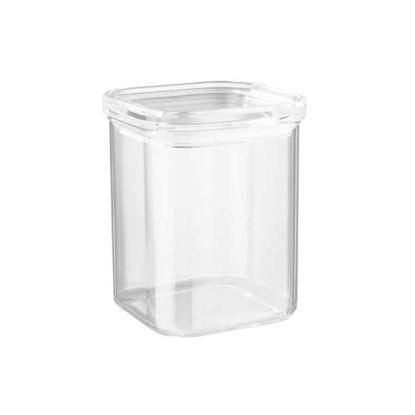 Зображення Ємність кухонна з кришкою CLEARANCE Прозорий 11x11 см. H:14.5 см. L:11 см. V:1100 мл. 10221234