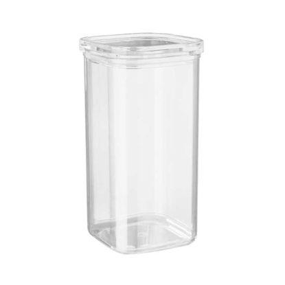 Изображение Емкость кухонная с крышкой CLEARANCE Прозрачный 11x11 см. H:21 см. L:11 см. V:1700 мл. 10221235
