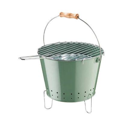 Изображение Ведро для барбекю BBQ Зеленый 26.5x20.7 см. H:17 см. L:26.5 см. 10221302