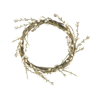 Зображення Вінок декоративний FLORISTA Зелений O:30 см. H:4 см. 10221305