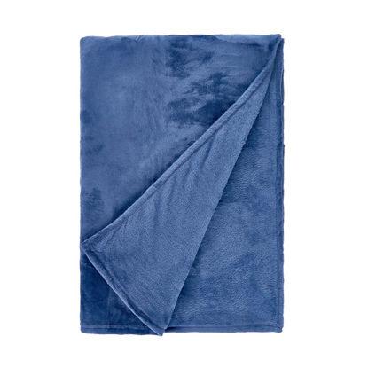 Зображення Пледи LAZY DAYS Синій 150х200 см. H:150 см. L:200 см. 10221410