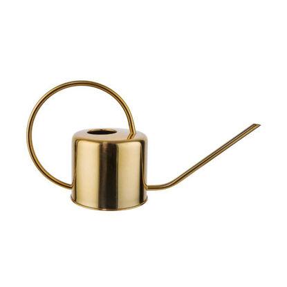 Зображення Лійка для вазонів FLORENCE Золотий 36.5x13 см. H:19 см. L:36.5 см. V:1300 мл. 10221421
