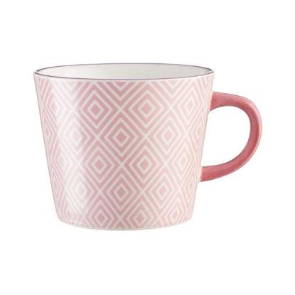 Зображення Чашка ORNAMENTS Рожевий V:350 мл. 10221441