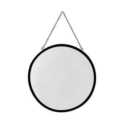 Изображение Зеркало LOOKALIKE Черный O:30 см. H:0.7 см. 10221538