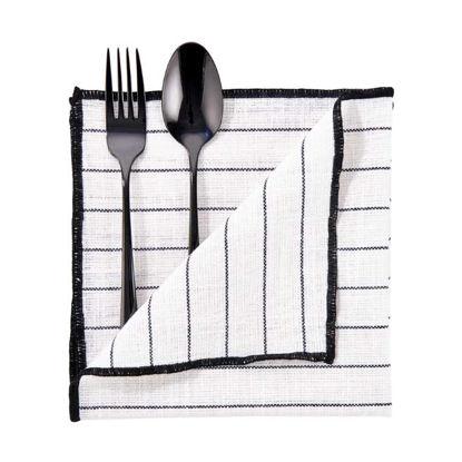 Изображение Салфетка COPENHAGEN Черный 42x42 см. L:42 см. 10221624