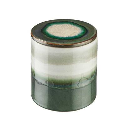 Зображення Ємність з кришкою для зберігання COSMOS Зелений O:14 см. H:14 см. 10221629