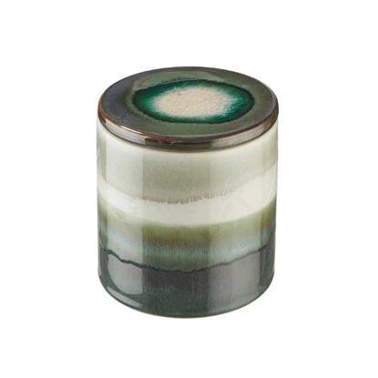 Зображення Ємність з кришкою для зберігання COSMOS Зелений O:11 см. H:11.5 см. 10221630