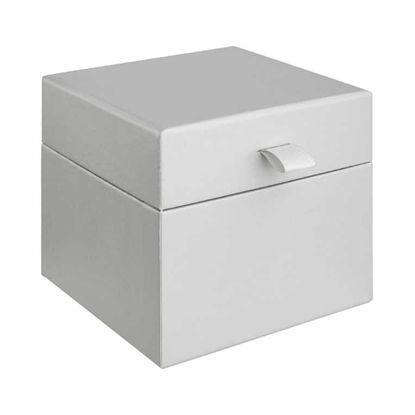 Зображення Коробка декоративна LITTLE SECRET Сірий 14x14 см. H:12 см. L:14 см. 10221681