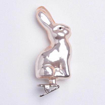 Зображення Прикраса декоративна EASTER Сріблястий в поєднанні 18x2.4 см. H:28 см. L:18 см. 10221873