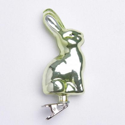 Зображення Прикраса декоративна EASTER Сріблястий в поєднанні 18x2.4 см. H:28 см. L:18 см. 10221874