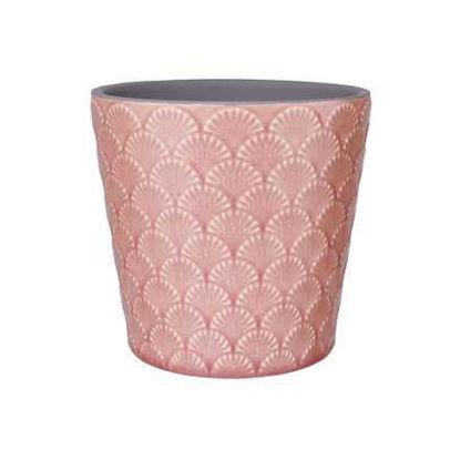 Зображення Горщик для квітів ARIELE Рожевий O:14 см. H:12.5 см. 10221890