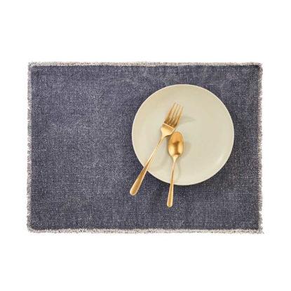 Изображение Подставка под тарелки RAW CANVAS Синий 48x33 см. L:48 см. 10221919