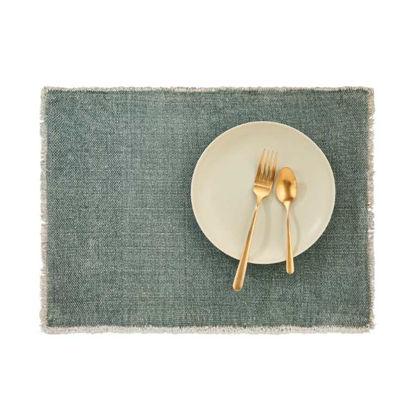 Изображение Подставка под тарелки RAW CANVAS Зеленый 48x33 см. L:48 см. 10221921