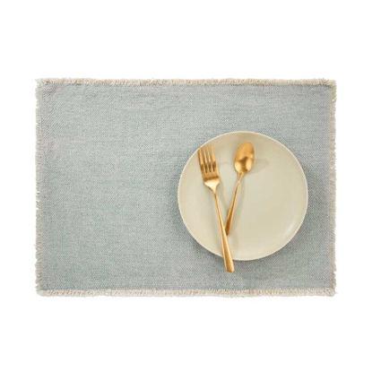 Изображение Подставка под тарелки RAW CANVAS Зеленый 48x33 см. L:48 см. 10221922