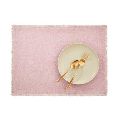 Изображение Подставка под тарелки RAW CANVAS Розовый 48x33 см. L:48 см. 10221923